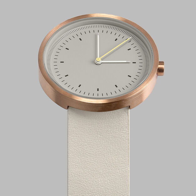 Interval Watch in color White