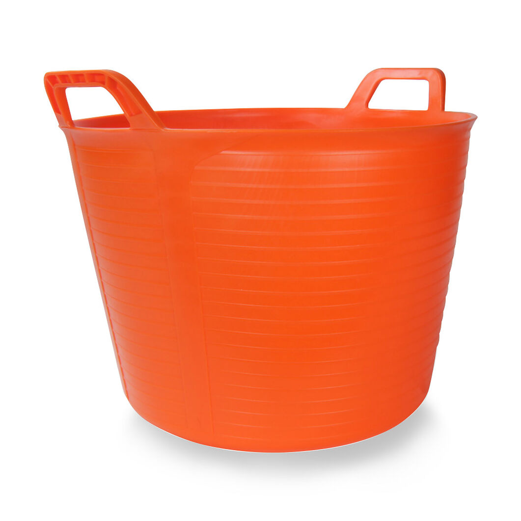 Flextub 40L Bucket in color Orange