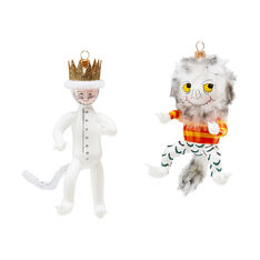 Where The Wild Things Are Holiday Ornament Set in color