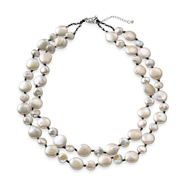 Pearl Necklace in color