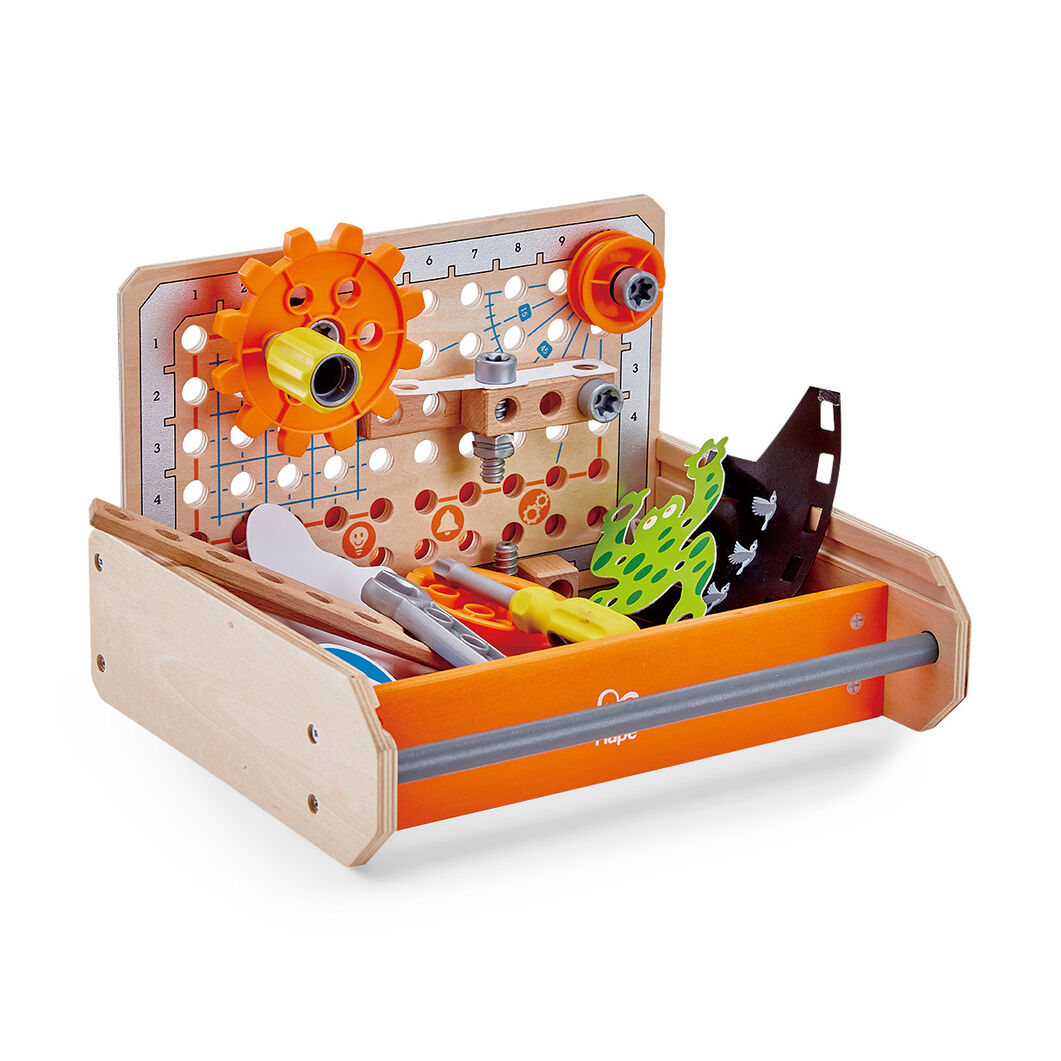 Science Experiment Toolbox in color