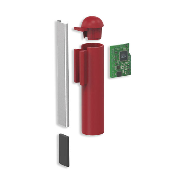 Lexon C-Pen Flash Drive in color Red