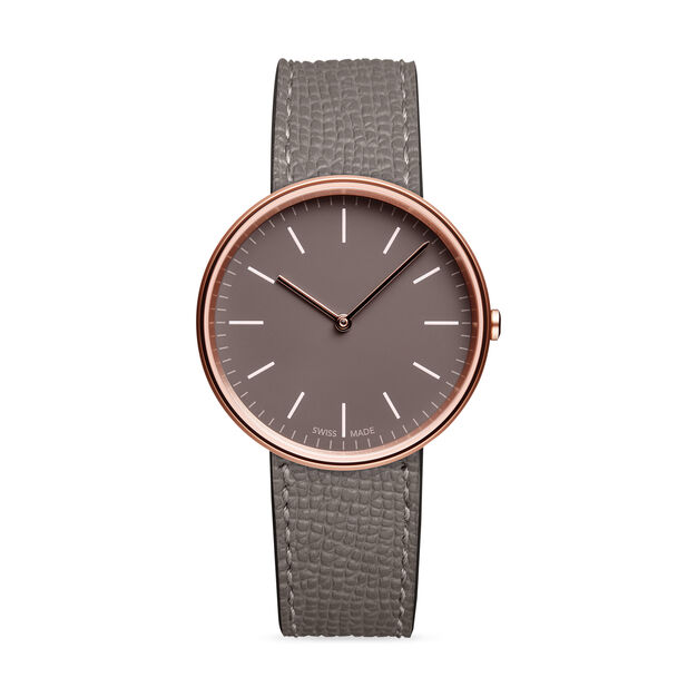 Uniform Wares M35 Rose Gold Women's Watch in color