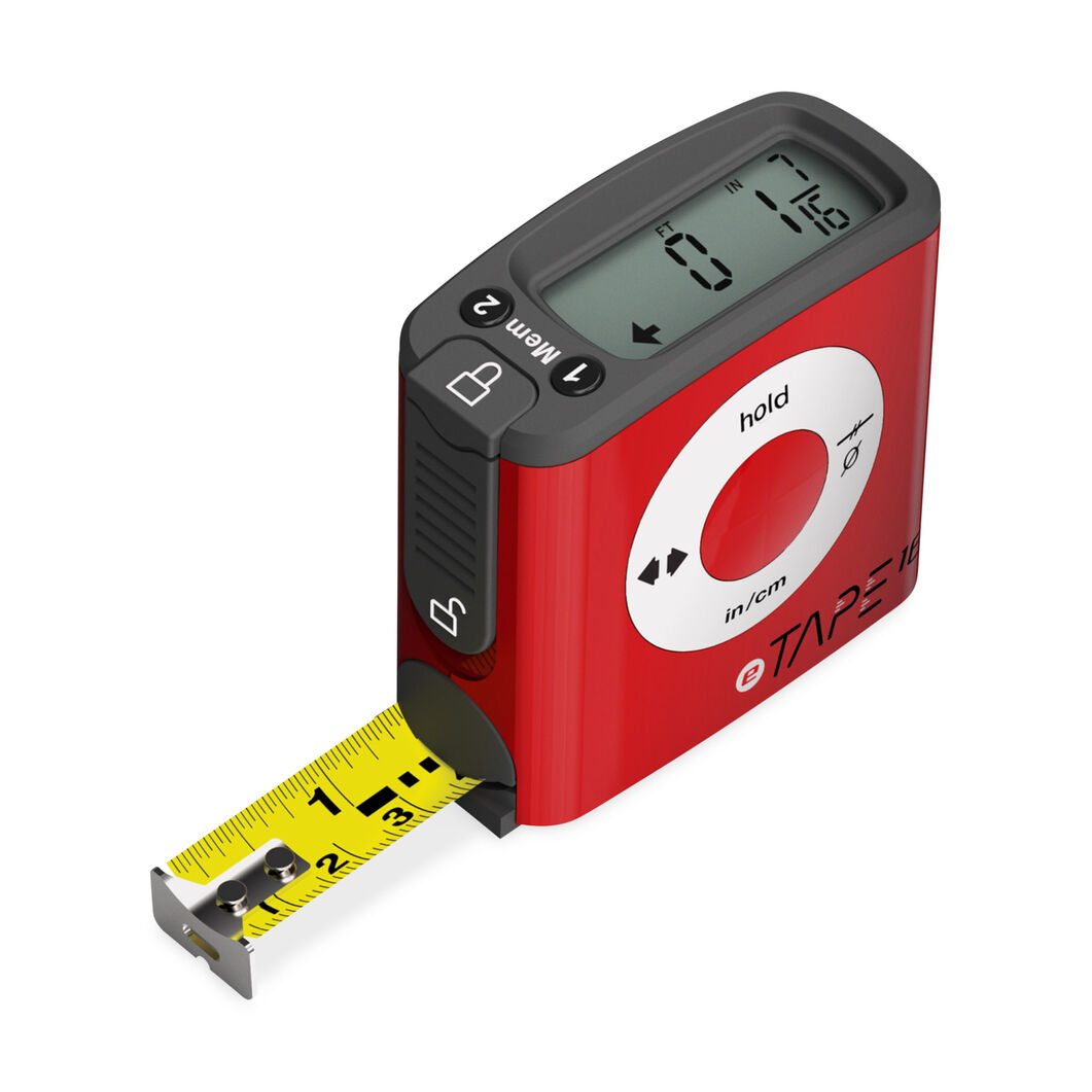 Digital Tape Measure in color