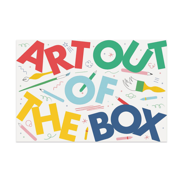 Art Out of the Box: Creativity Games for Artists of All Ages - Hardcover in color
