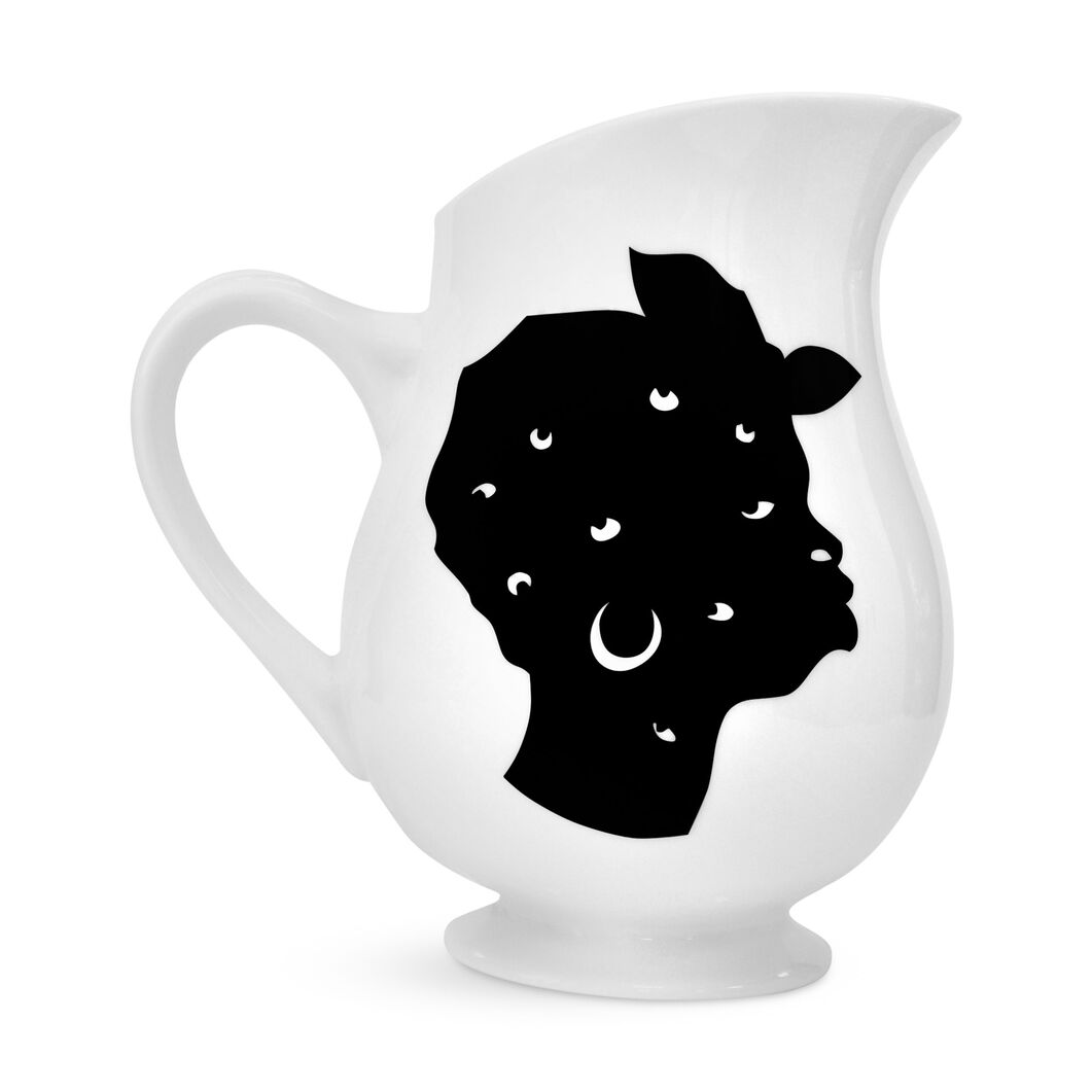 Kara Walker: Pitcher in color