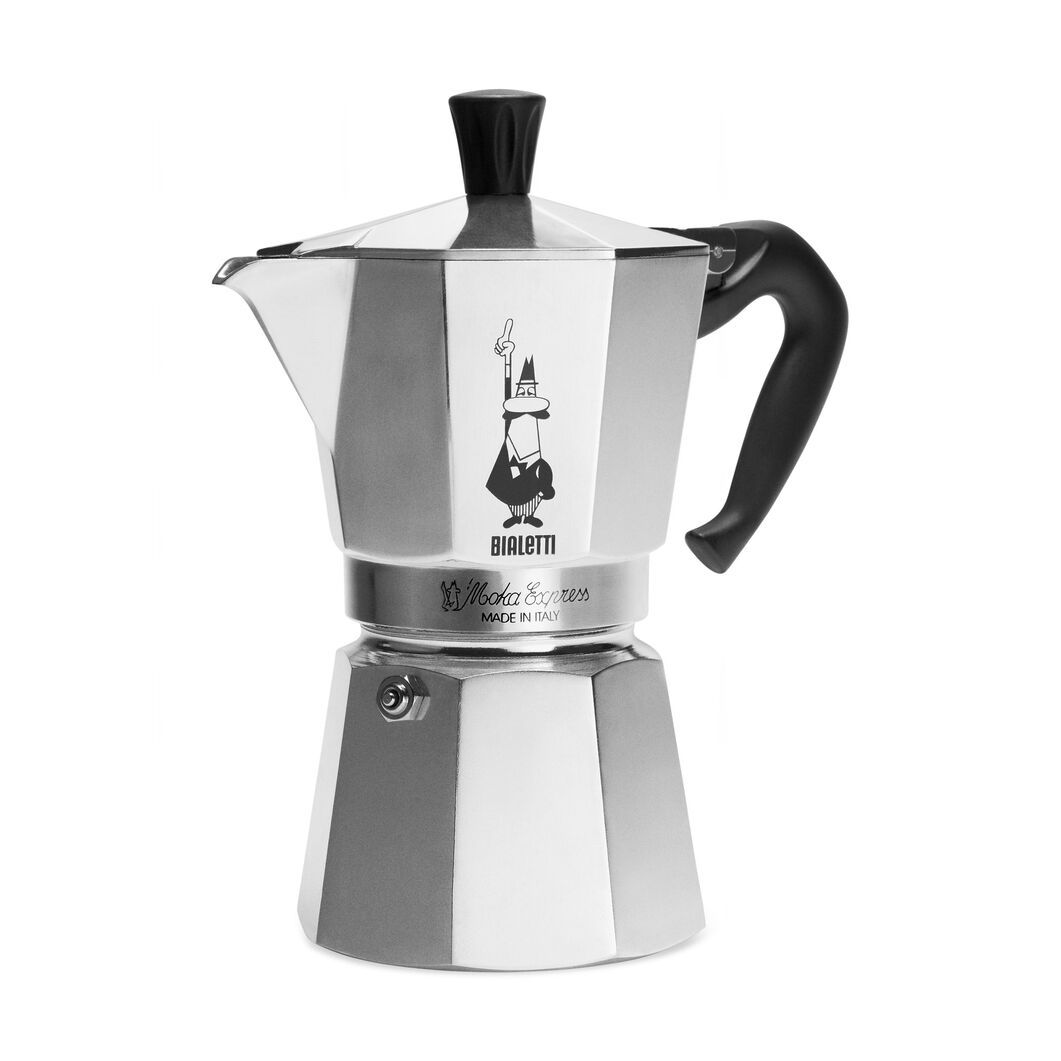 Moka Express Silver in color Silver