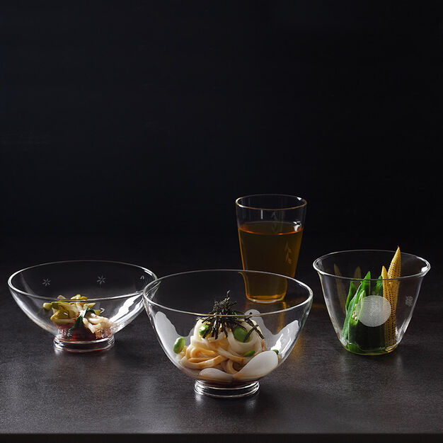 Four Seasons Nesting Glassware – Set of 4 in color