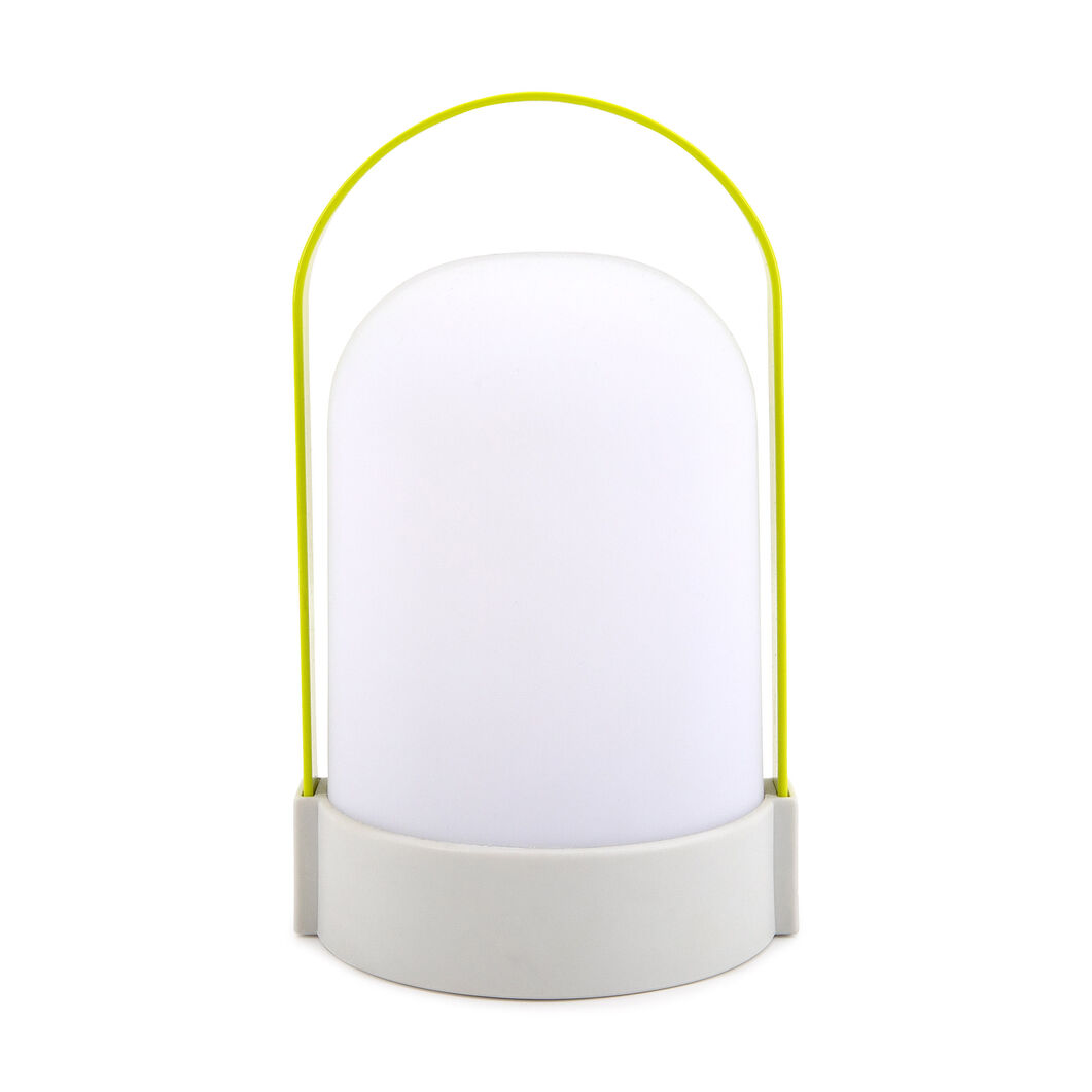 URI Portable Table Lamp in color Yellow/ Gray