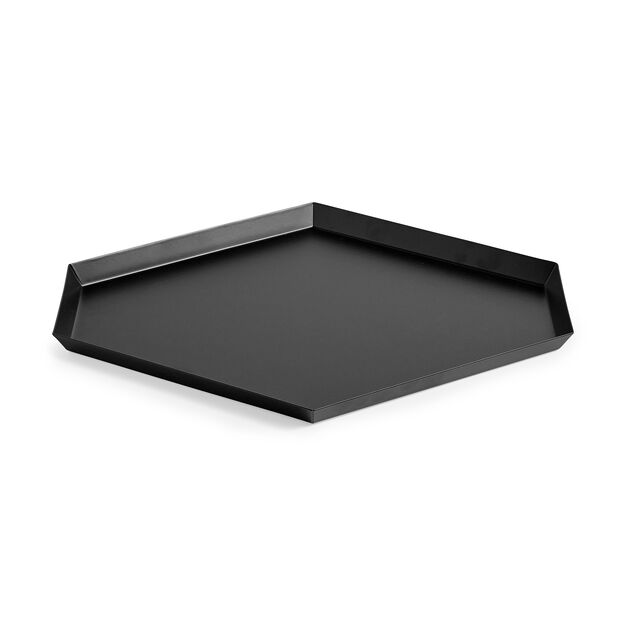 HAY Kaleido Tray Large in color Black