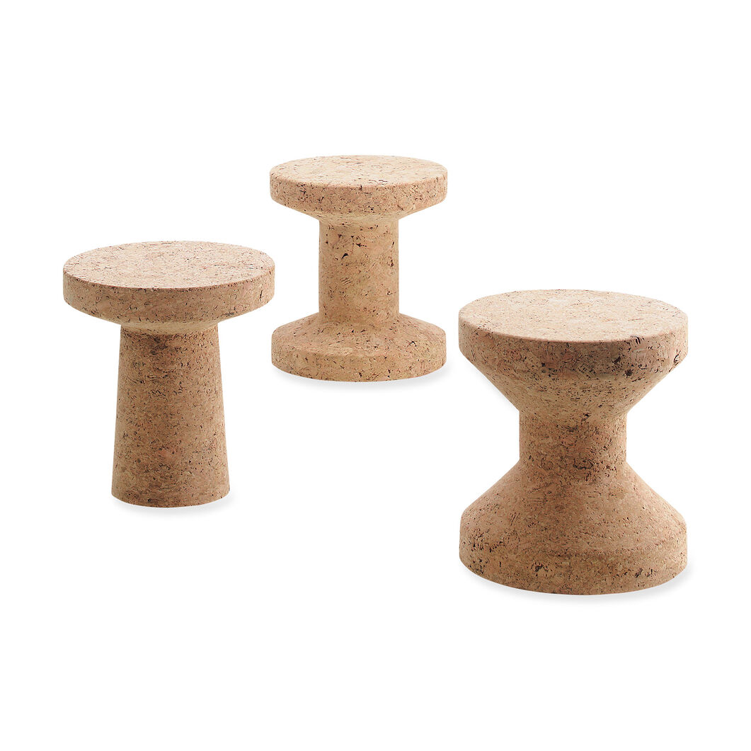 Cork Stool Model C in color