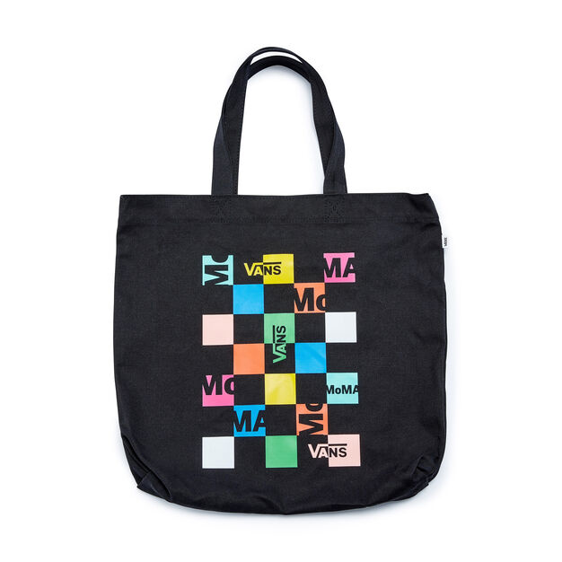 MoMA and Vans Checkerboard Logo Canvas Tote Bag in color