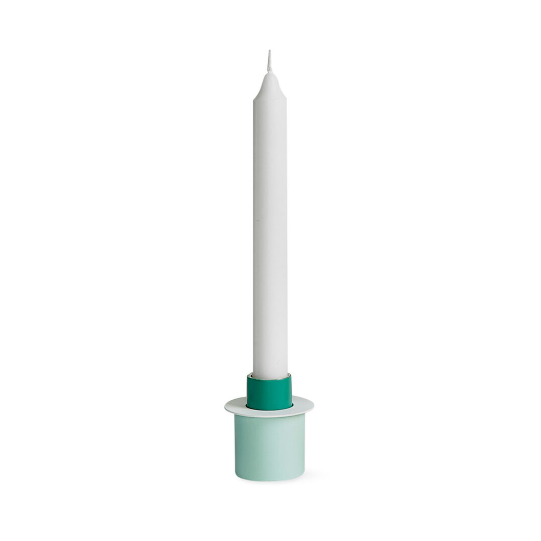Field Candlestick - Green in color Green