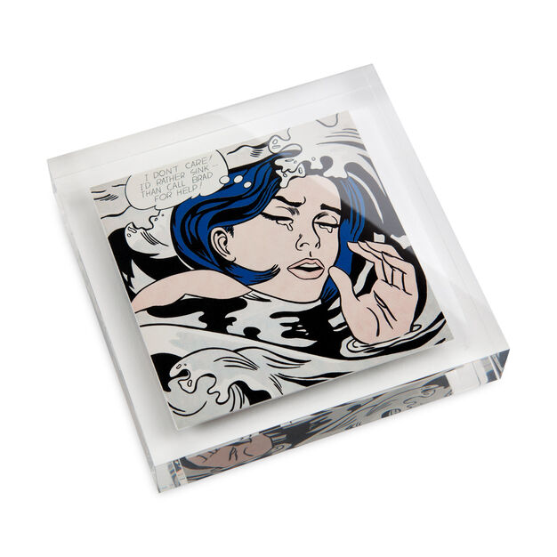 Roy Lichtenstein: Paperweight in color