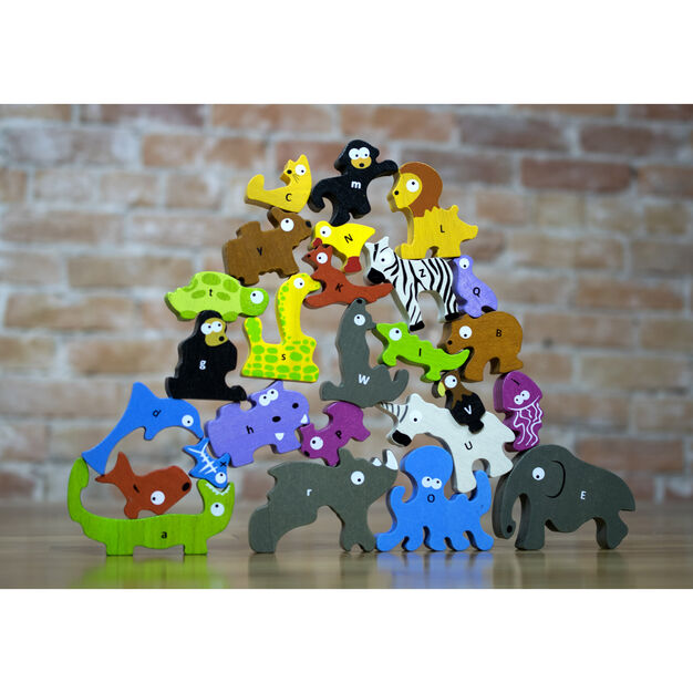 Animal Parade Puzzle in color