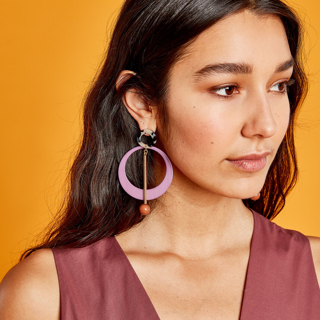 Rachel Comey Joey Earrings in color Lavender