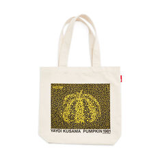 Yayoi Kusama Pumpkin Tote Bag in color