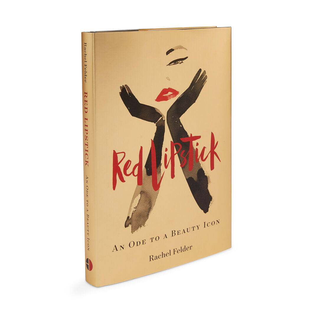 Red Lipstick: An Ode to a Beauty Icon - Hardcover in color