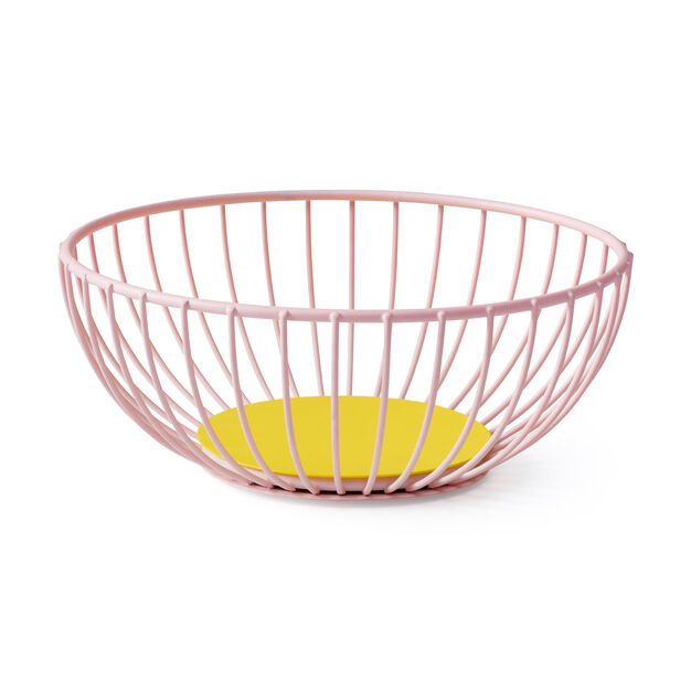 Iris Bowl in color Pink/ Yellow