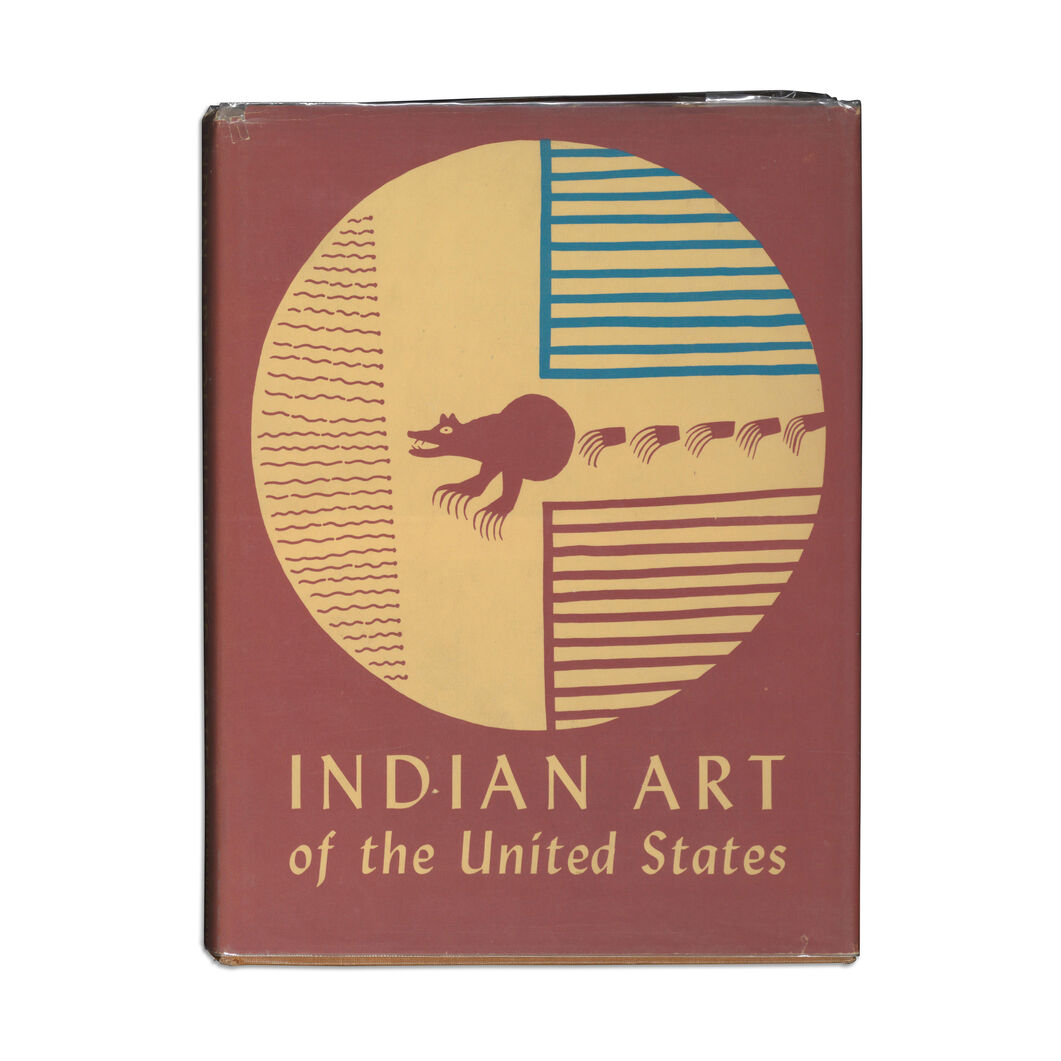 Indian Art of the United States (2nd printing) - Hardcover in color