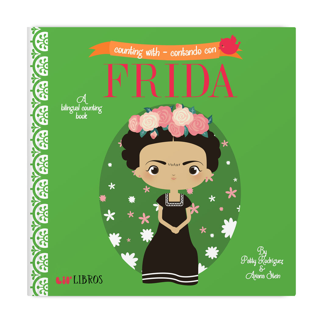 Counting With Frida: A Bilingual Counting Book in color