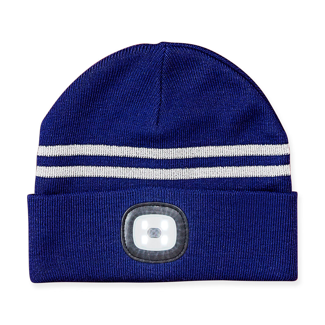 X-Cap Light Up Reflective Navy Hat in color