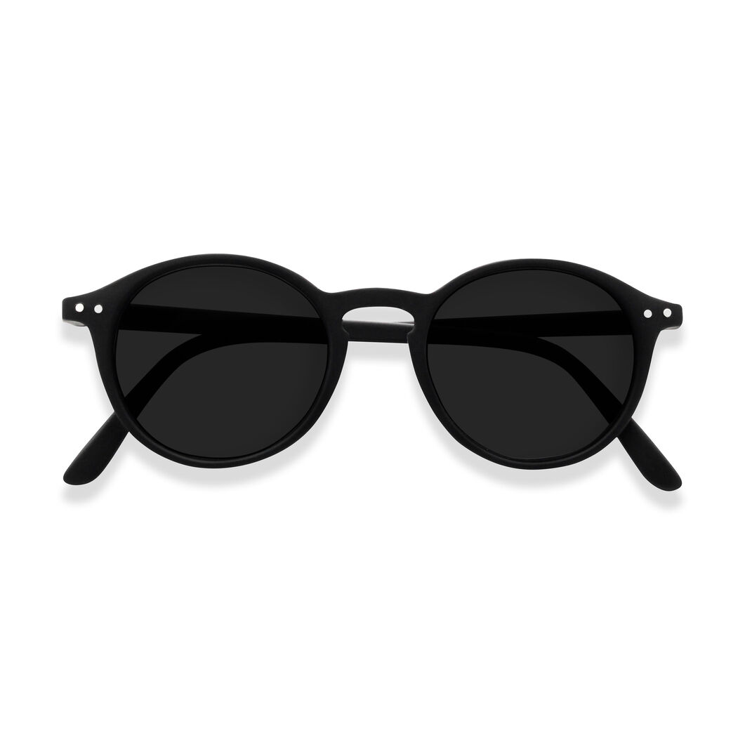 IZIPIZI Round Sunglasses #D in color Black