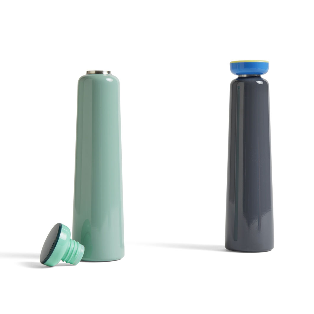 HAY George Sowden Water Bottles - Large in color Grey