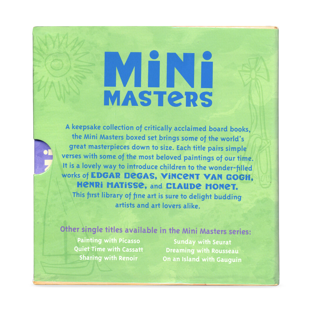 Mini Masters Boxed Set in color