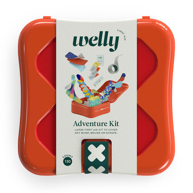 Adventure First Aid Kit in color