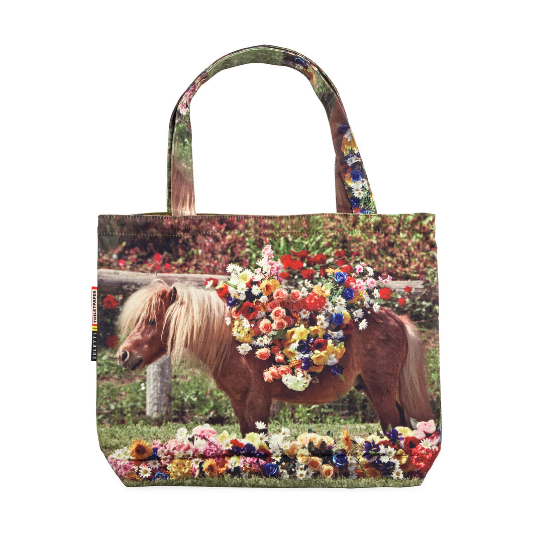 Seletti Wears Toiletpaper: Pony Tote in color