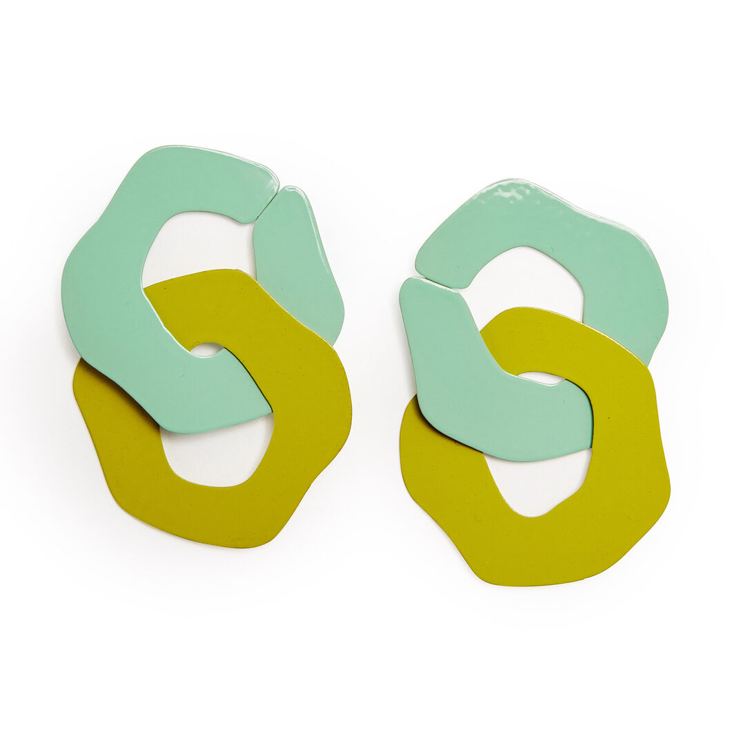 Sibilia 2 Manchas Earrings in color