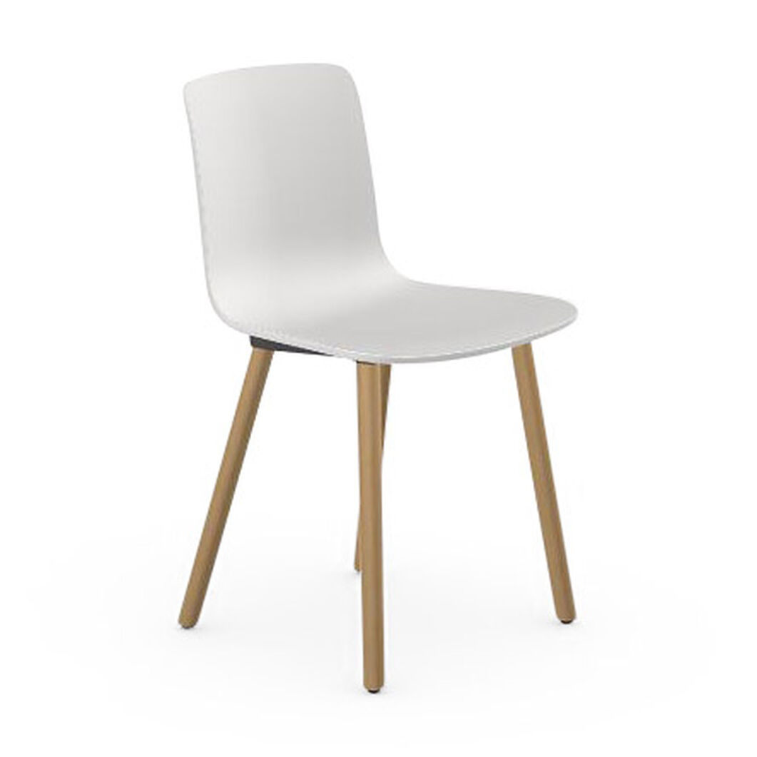 HAL Wood Chair in color White