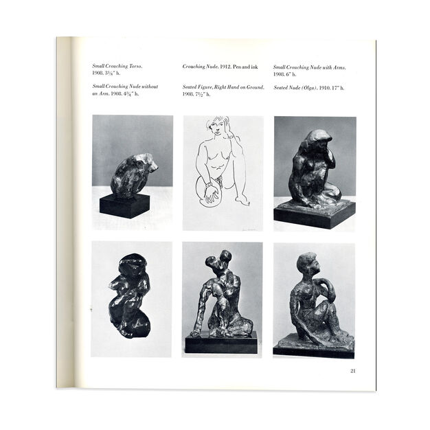 The Sculpture of Matisse - Paperback in color