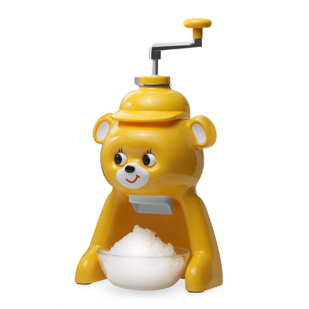 Bear Ice Shaver in color Yellow