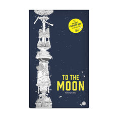 To the Moon: The Longest Fold-Out Coloring Book in the World - Paperback in color