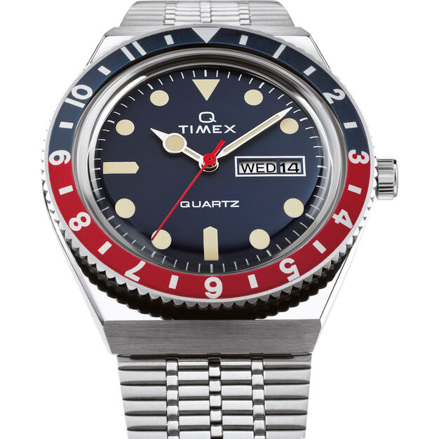Q Timex Watch 1979 Reissue in color