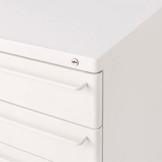 MUJI File Cabinet in color Light Gray