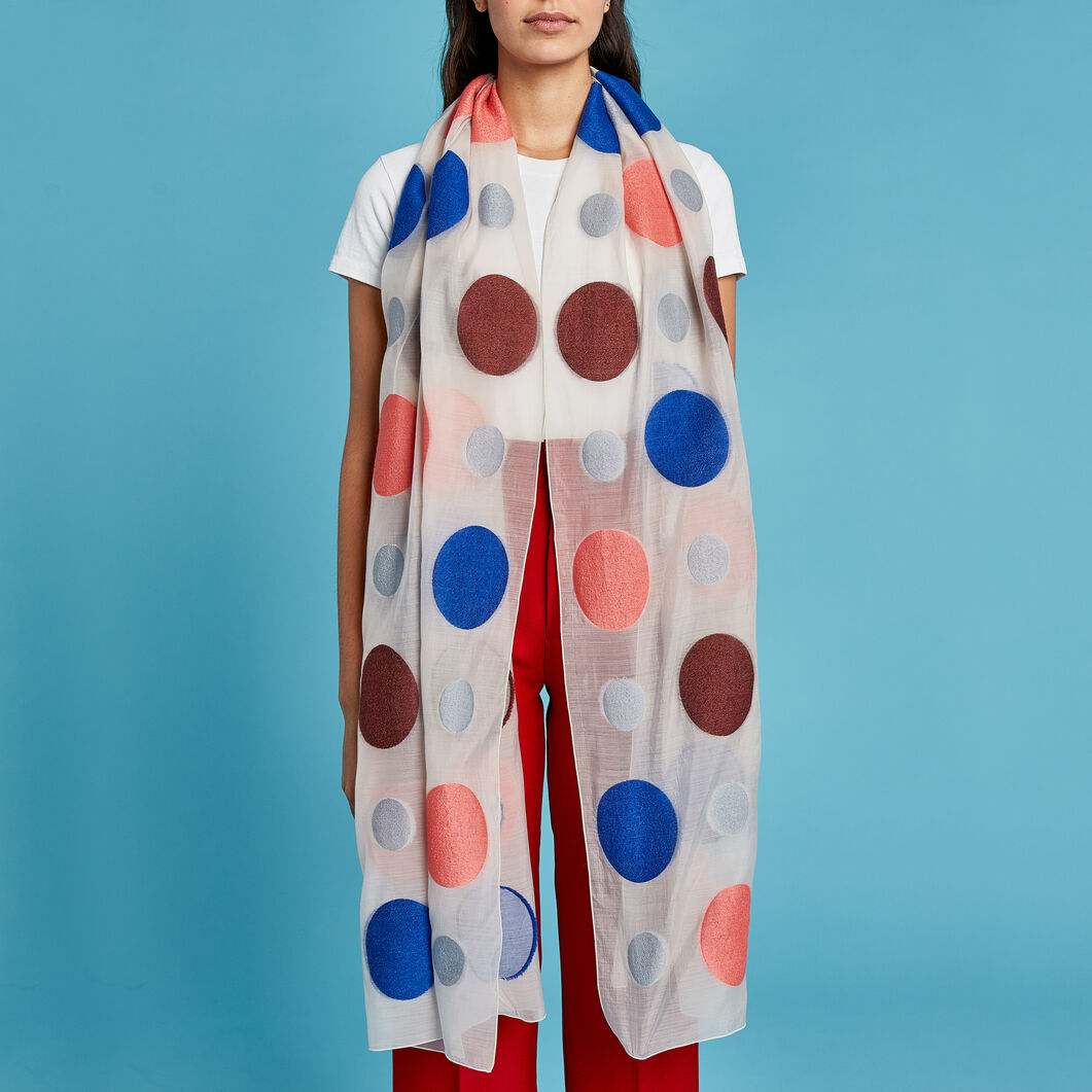 Dots Scarf in color