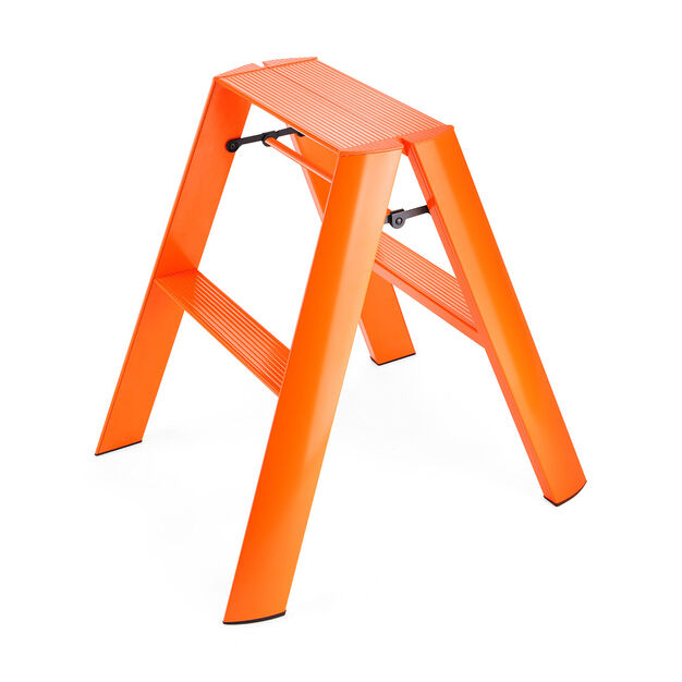 Lucano Step Stools in color Orange
