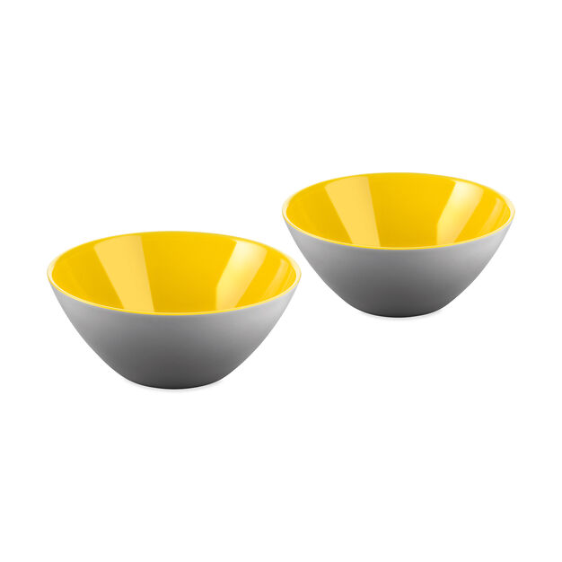 Mini My Fusion Bowls in color Yellow/ Gray