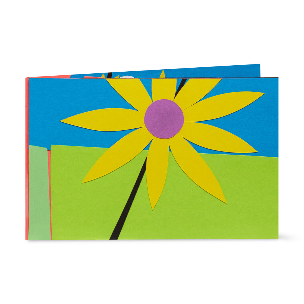 Playful Blossoms Pop-Up Note Card in color