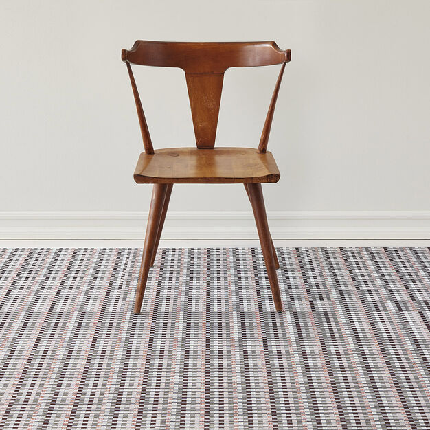 Chilewich Heddle Floormat in color Brown
