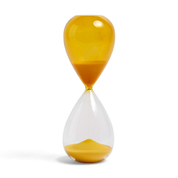 HAY Time Hourglass in color Yellow