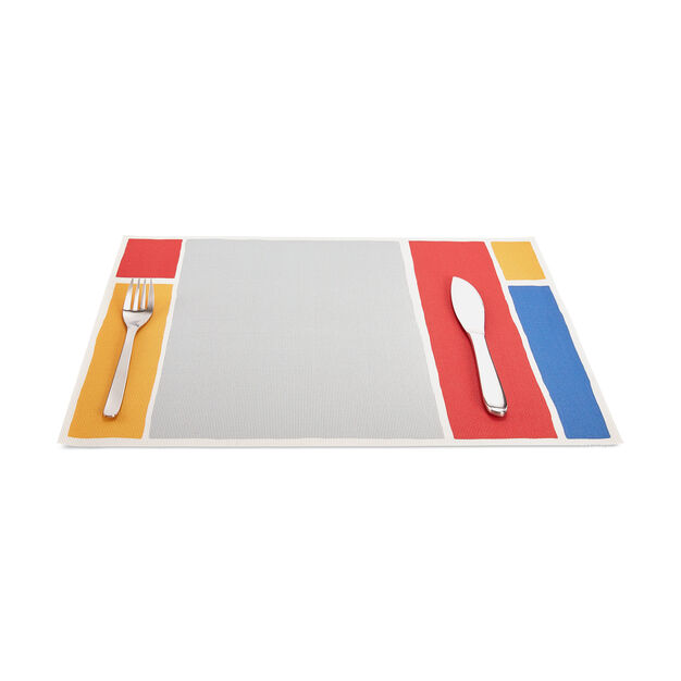 Chilewich Maptone Placemat in color Grey/ Multi