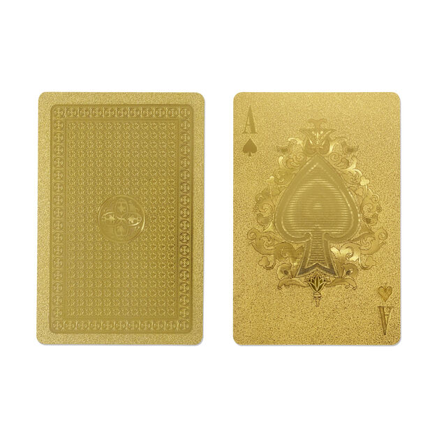 Gold Playing Cards in color