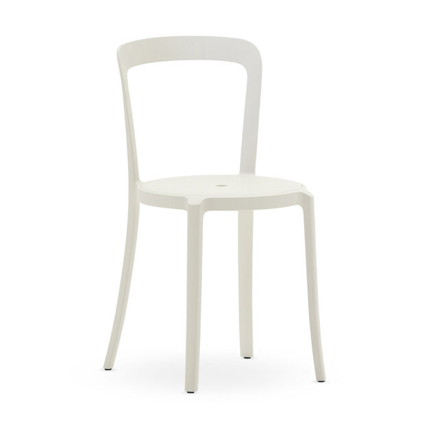 Emeco On & On Recycled Stackable Chair in color Stockholm White