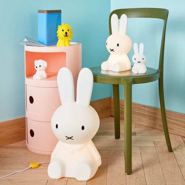 Silicone Miffy and Friends Rechargeable Lights in color White