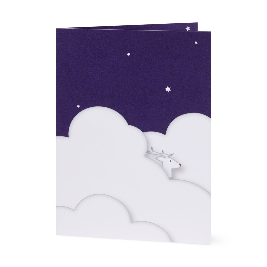 Santa's Sleigh Holiday Cards (Box of 8) in color