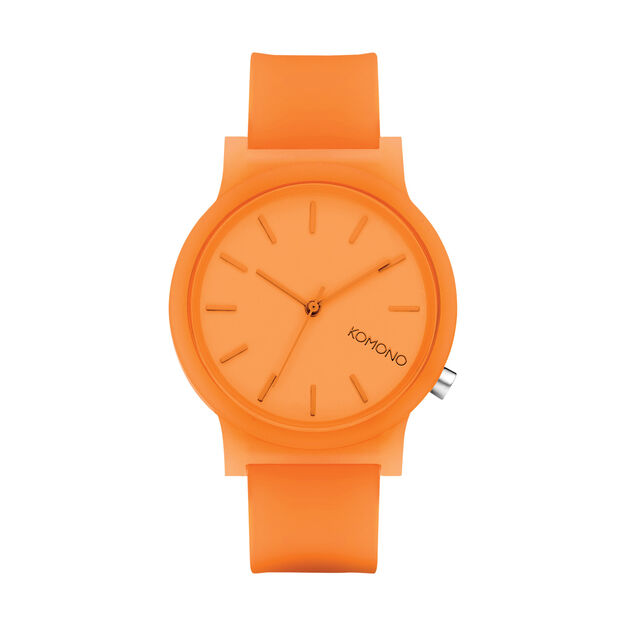 Mono Color Watch in color Orange